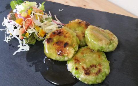 豆腐枝豆ハンバーグ