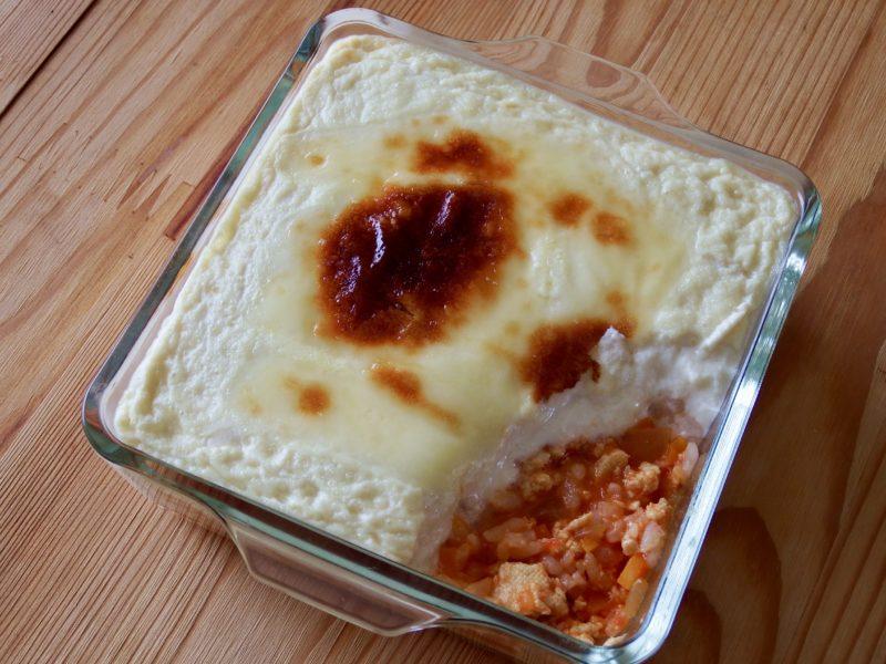 豆腐ミートドリア