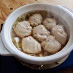 豆腐と魚肉つみれ煮込み