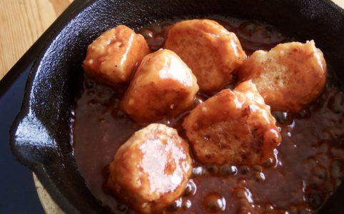 豆腐ミートボール