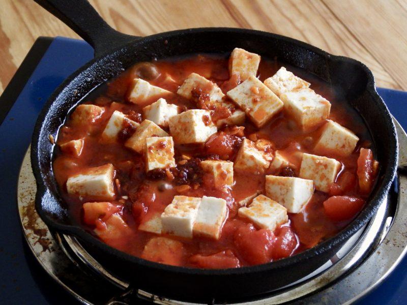 よけいな味付け不要!旨辛トマト麻婆豆腐