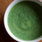 ホウレン草丸ごと!豆腐ホウレン草ポタージュスープ