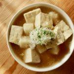 豆腐と餅のみぞれ煮