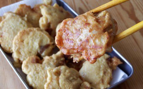 鶏モモの豆腐ナゲット