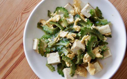 豆腐と卵のゴーヤチャンプルー
