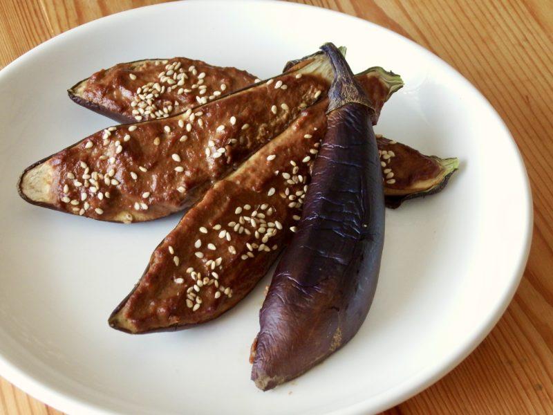 豆腐ナス田楽