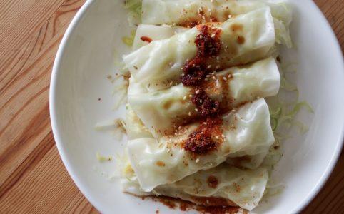 豆腐キャベツロール