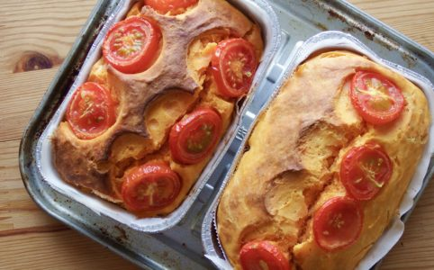 トマト嫌いによるトマト嫌いのためのトマトマ豆腐ケーキ
