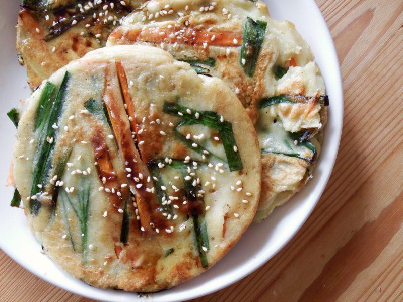 野菜たっぷり豆腐ヒラヤーチー