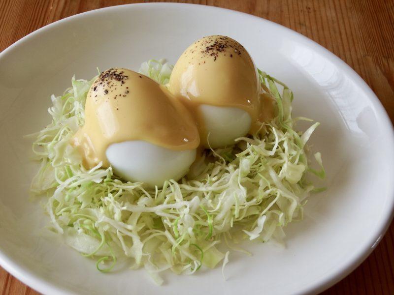 コーティングエッグ(豆腐卵ソース)