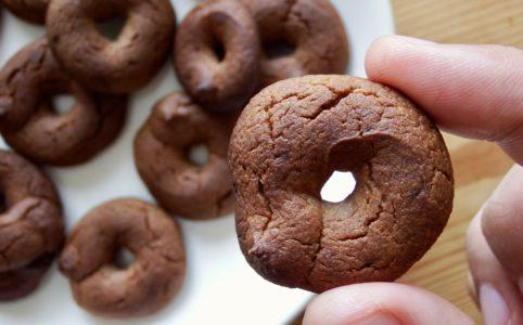 小麦粉なし!豆腐とバナナのきな粉クッキー