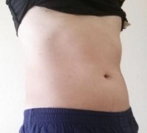 体重72kg体脂肪率23%
