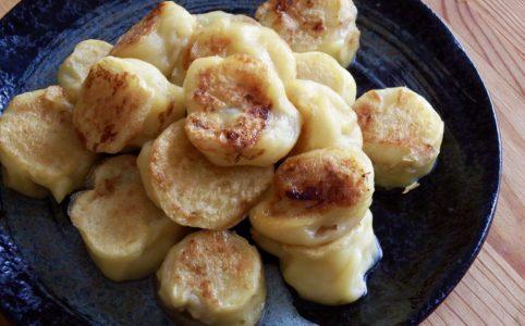 豆腐バナナボール