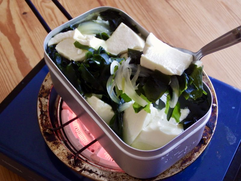 中華風豆腐ワカメスープ
