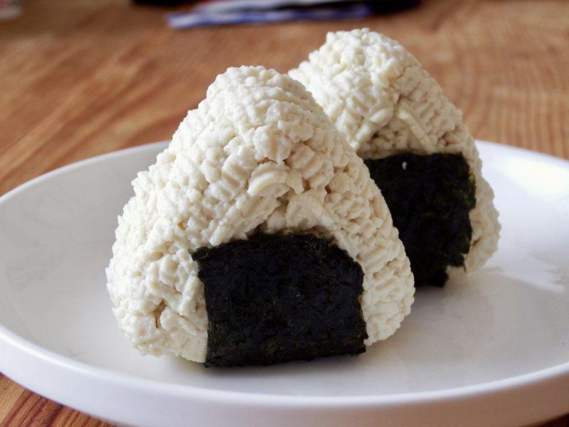 豆腐おにぎり