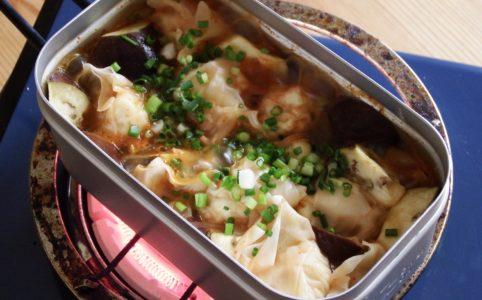 豆腐ワンタンのキムチスープ