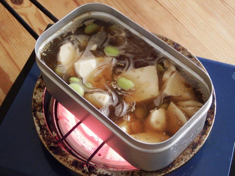 マロニー豆腐の中華スープ