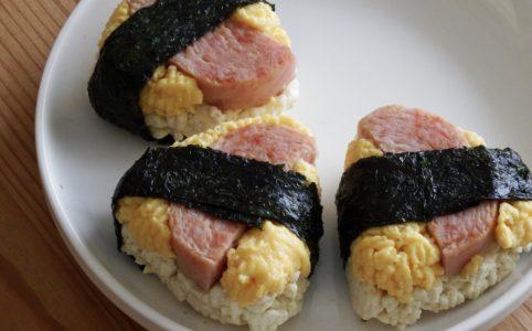 スパム豆腐おにぎり