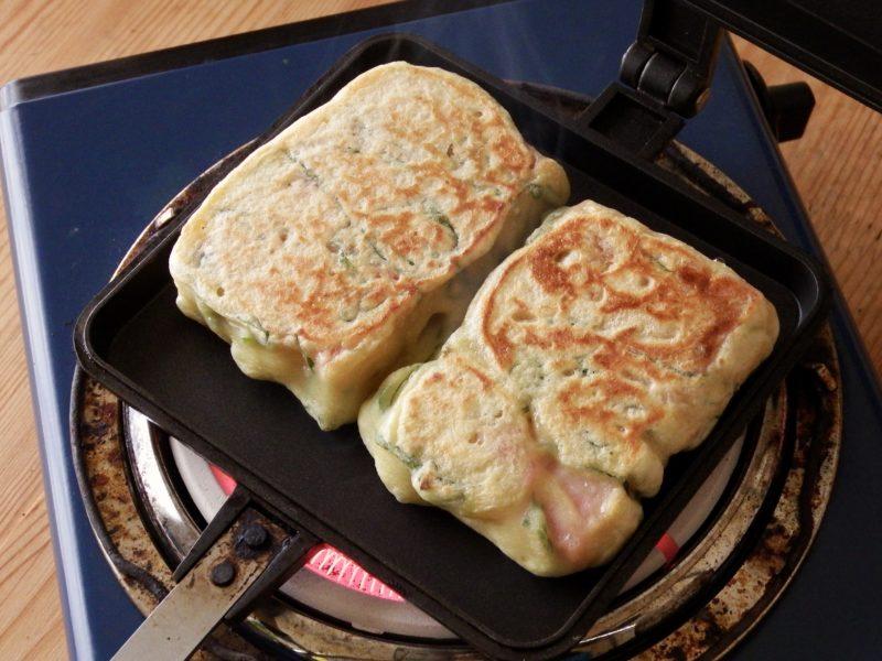 厚切りスパムの豆腐ナゲット
