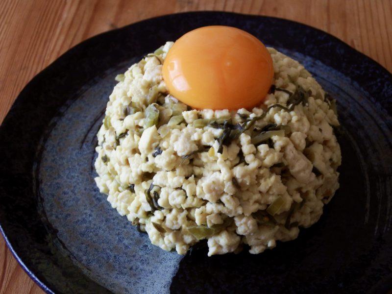 豆腐高菜チャーハン