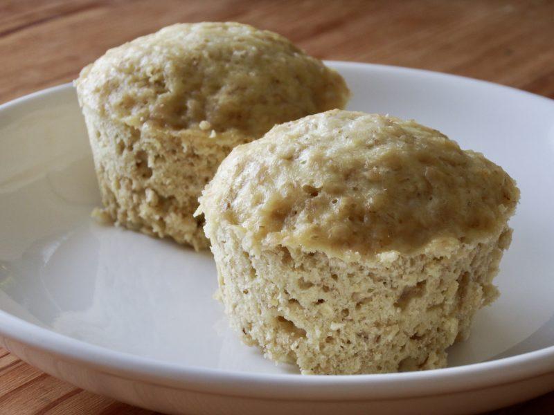 もちプチ食感!オートミール豆腐蒸しパン