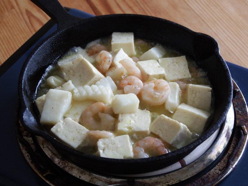 豆腐アヒージョ 作り方
