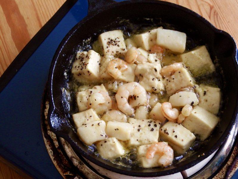 豆腐アヒージョ