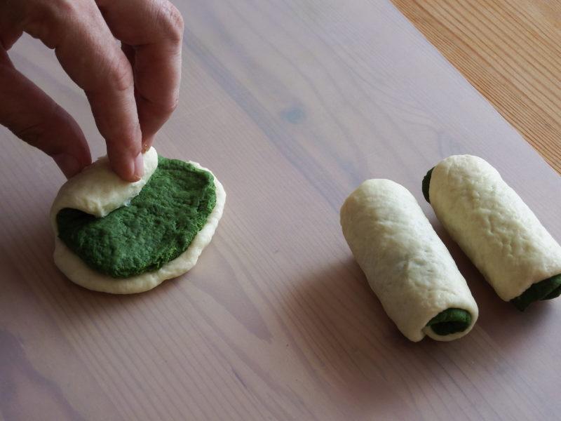 ほろ苦!抹茶うずまきミニ豆腐パン 作り方