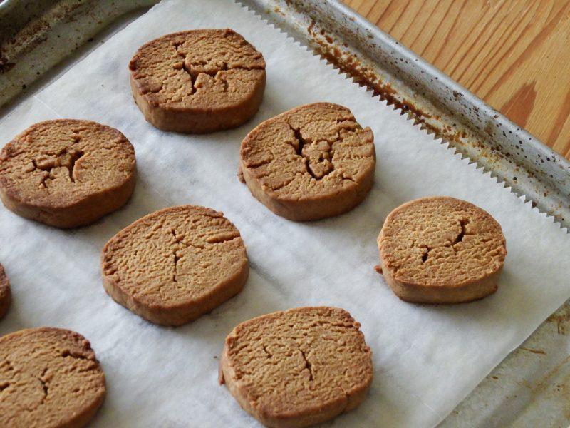 卵なし・バターなしサクサクきな粉クッキー