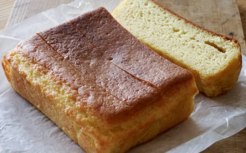 大豆粉のスポンジケーキ風カステラ