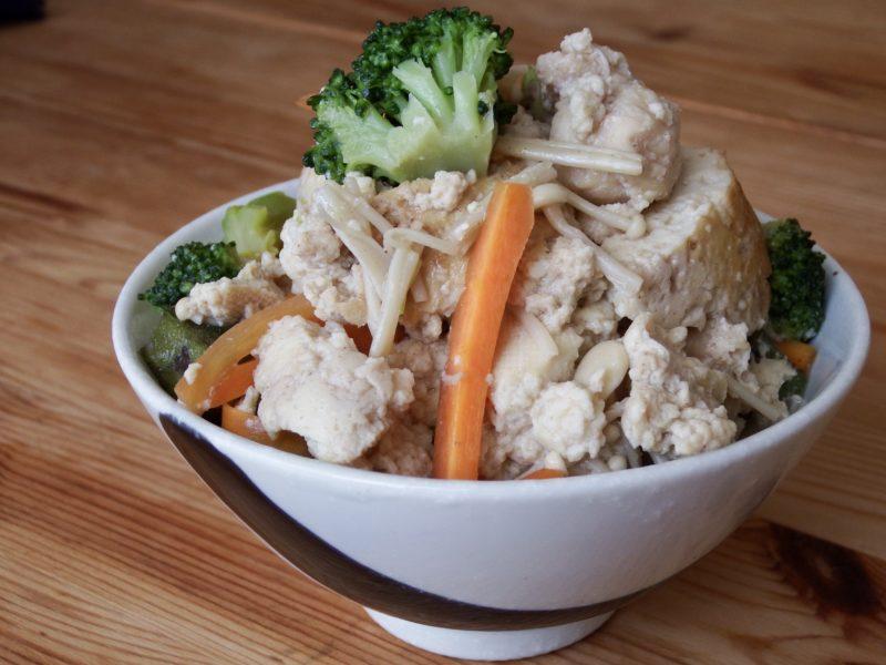 炊き込み豆腐